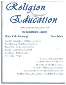 Islamic Education in America – INSTITUTE OF MUSLIM AMERICAN